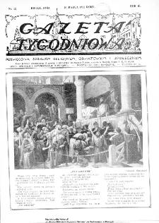 Gazeta Tygodniowa. Poświęcona sprawom religijnym, oświatowym i społecznym,1932, R.3, nr 12