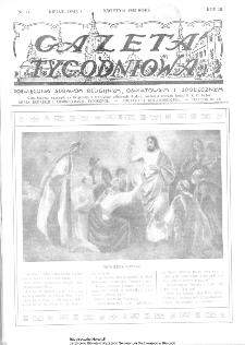 Gazeta Tygodniowa. Poświęcona sprawom religijnym, oświatowym i społecznym,1932, R.3, nr 14