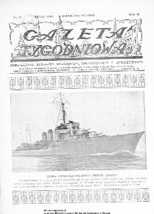 Gazeta Tygodniowa. Poświęcona sprawom religijnym, oświatowym i społecznym,1932, R.3, nr 17