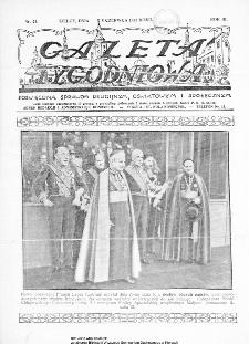 Gazeta Tygodniowa. Poświęcona sprawom religijnym, oświatowym i społecznym,1932, R.3, nr 23