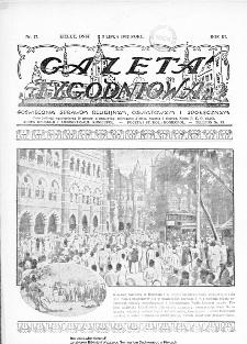 Gazeta Tygodniowa. Poświęcona sprawom religijnym, oświatowym i społecznym,1932, R.3, nr 27