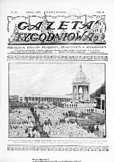 Gazeta Tygodniowa. Poświęcona sprawom religijnym, oświatowym i społecznym,1932, R.3, nr 28
