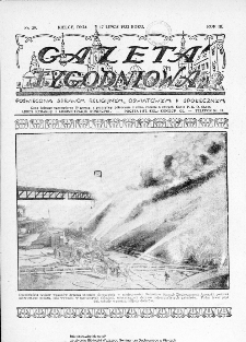 Gazeta Tygodniowa. Poświęcona sprawom religijnym, oświatowym i społecznym,1932, R.3, nr 29