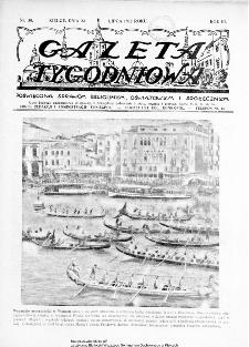 Gazeta Tygodniowa. Poświęcona sprawom religijnym, oświatowym i społecznym,1932, R.3, nr 30