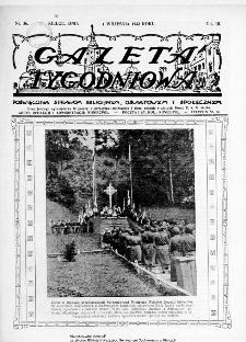 Gazeta Tygodniowa. Poświęcona sprawom religijnym, oświatowym i społecznym,1932, R.3, nr 36
