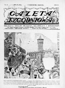 Gazeta Tygodniowa. Poświęcona sprawom religijnym, oświatowym i społecznym,1932, R.3, nr 41