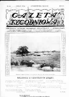 Gazeta Tygodniowa. Poświęcona sprawom religijnym, oświatowym i społecznym,1932, R.3, nr 43