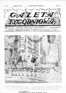 Gazeta Tygodniowa. Poświęcona sprawom religijnym, oświatowym i społecznym,1932, R.3, nr 47