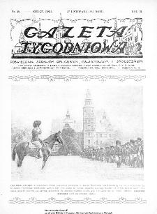 Gazeta Tygodniowa. Poświęcona sprawom religijnym, oświatowym i społecznym,1932, R.3, nr 48