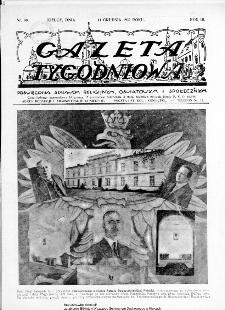 Gazeta Tygodniowa. Poświęcona sprawom religijnym, oświatowym i społecznym,1932, R.3, nr 50