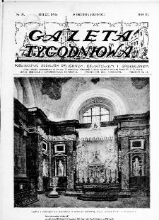 Gazeta Tygodniowa. Poświęcona sprawom religijnym, oświatowym i społecznym,1932, R.3, nr 51