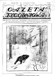 Gazeta Tygodniowa. Poświęcona sprawom religijnym, oświatowym i społecznym,1934, R.4, nr 1