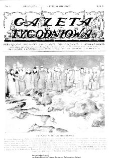 Gazeta Tygodniowa. Poświęcona sprawom religijnym, oświatowym i społecznym,1934, R.4, nr 6