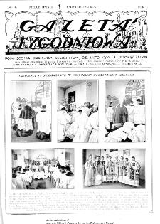 Gazeta Tygodniowa. Poświęcona sprawom religijnym, oświatowym i społecznym,1934, R.4, nr 16