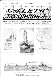 Gazeta Tygodniowa. Poświęcona sprawom religijnym, oświatowym i społecznym,1934, R.4, nr 29