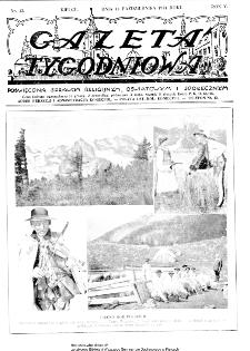 Gazeta Tygodniowa. Poświęcona sprawom religijnym, oświatowym i społecznym,1934, R.4, nr 42