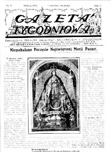 Gazeta Tygodniowa. Poświęcona sprawom religijnym, oświatowym i społecznym,1934, R.4, nr 50