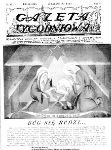 Gazeta Tygodniowa. Poświęcona sprawom religijnym, oświatowym i społecznym,1934, R.4, nr 52