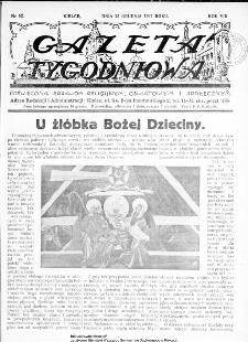 Gazeta Tygodniowa. Poświęcona sprawom religijnym, oświatowym i społecznym,1937, R.8, nr 52