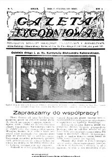 Gazeta Tygodniowa. Poświęcona sprawom religijnym, oświatowym i społecznym 1939, nr 3