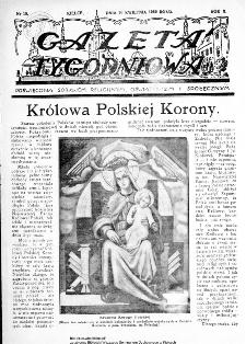 Gazeta Tygodniowa. Poświęcona sprawom religijnym, oświatowym i społecznym 1939, nr 18