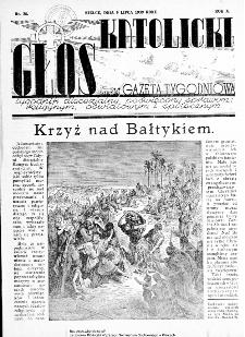 Głos Katolicki dawniej Gazeta Tygodniowa poświęcony sprawom religijnym, oświatowym i społecznym 1939, nr 28