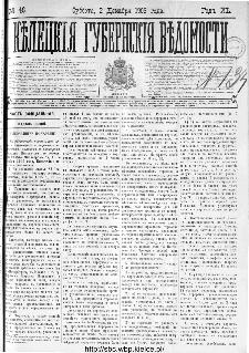 Kieleckije Gubernskije Wiedomosti: tygodnik 1906, nr 48