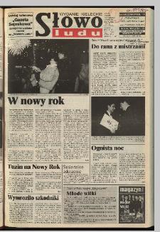 Słowo Ludu 1997, XLVI, nr 1 (kieleckie W1)