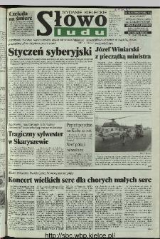 Słowo Ludu 1997, XLVI, nr 3 (kieleckie W1)
