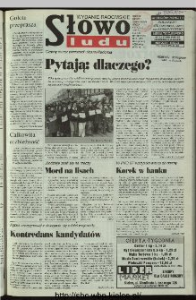 Słowo Ludu 1997, XLVI, nr 6 (radomskie)