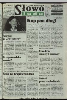 Słowo Ludu 1997, XLVI, nr 9 (radomskie)