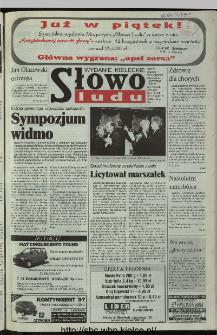 Słowo Ludu 1997, XLVI, nr 10 (kieleckie W4)