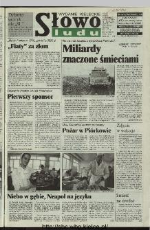 Słowo Ludu 1997, XLVI, nr 15 (kieleckie W4)