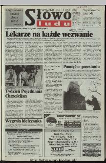 Słowo Ludu 1997, XLVI, nr 16 (kieleckie W1)