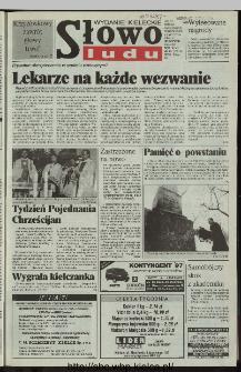 Słowo Ludu 1997, XLVI, nr 16 (kieleckie W4)