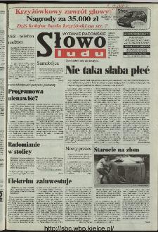 Słowo Ludu 1997, XLVI, nr 17 (radomskie)