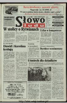 Słowo Ludu 1997, XLVI, nr 18 (tarnobrzeskie)