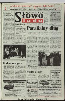 Słowo Ludu 1997, XLVIII, nr 40 (radomskie)