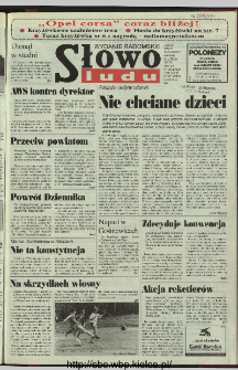 Słowo Ludu 1997, XLVIII, nr 47 (radomskie)