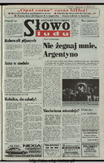 Słowo Ludu 1997, XLVIII, nr 58 (radomskie)