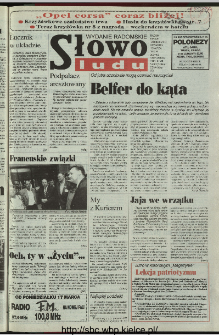 Słowo Ludu 1997, XLVIII, nr 61 (radomskie)