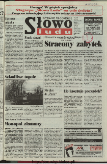 Słowo Ludu 1997, XLVIII, nr 72 (radomskie)