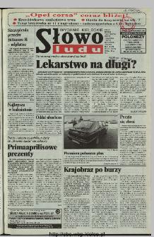 Słowo Ludu 1997, XLVIII, nr 76 (kieleckie W1)