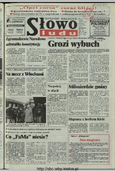 Słowo Ludu 1997, XLVIII, nr 77 (kieleckie W1)