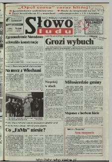 Słowo Ludu 1997, XLVIII, nr 77 (Nad Wisłą i Kamienną)