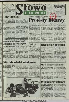 Słowo Ludu 1997, XLVIII, nr 85 (radomskie)