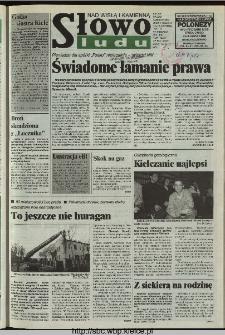 Słowo Ludu 1997, XLVIII, nr 85 (Nad Wisłą i Kamienną)