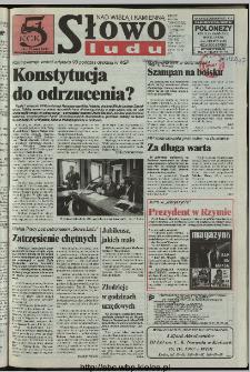 Słowo Ludu 1997, XLVIII, nr 89 (Nad Wisłą i Kamienną)