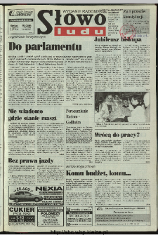 Słowo Ludu 1997, XLVIII, nr 92 (radomskie)