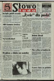 Słowo Ludu 1997, XLVIII, nr 93 (radomskie)